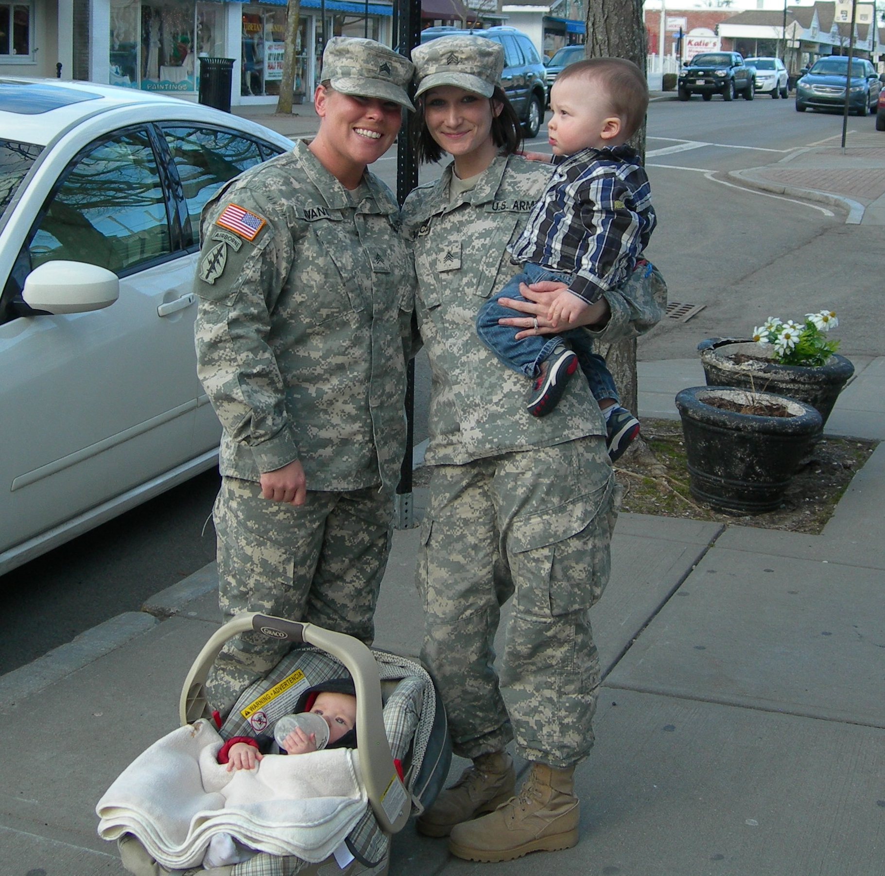 Meet the young soldiers who keep their babies and the rest of us safe…