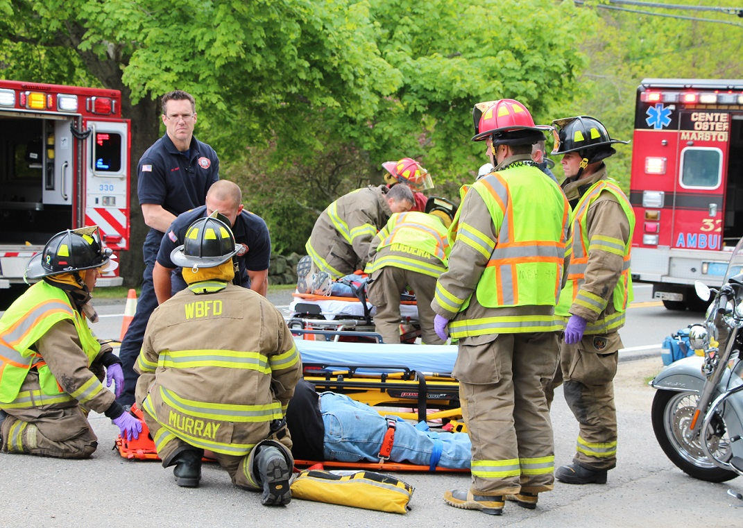 Two injured in West Barnstable motorcycle crash… [Video]