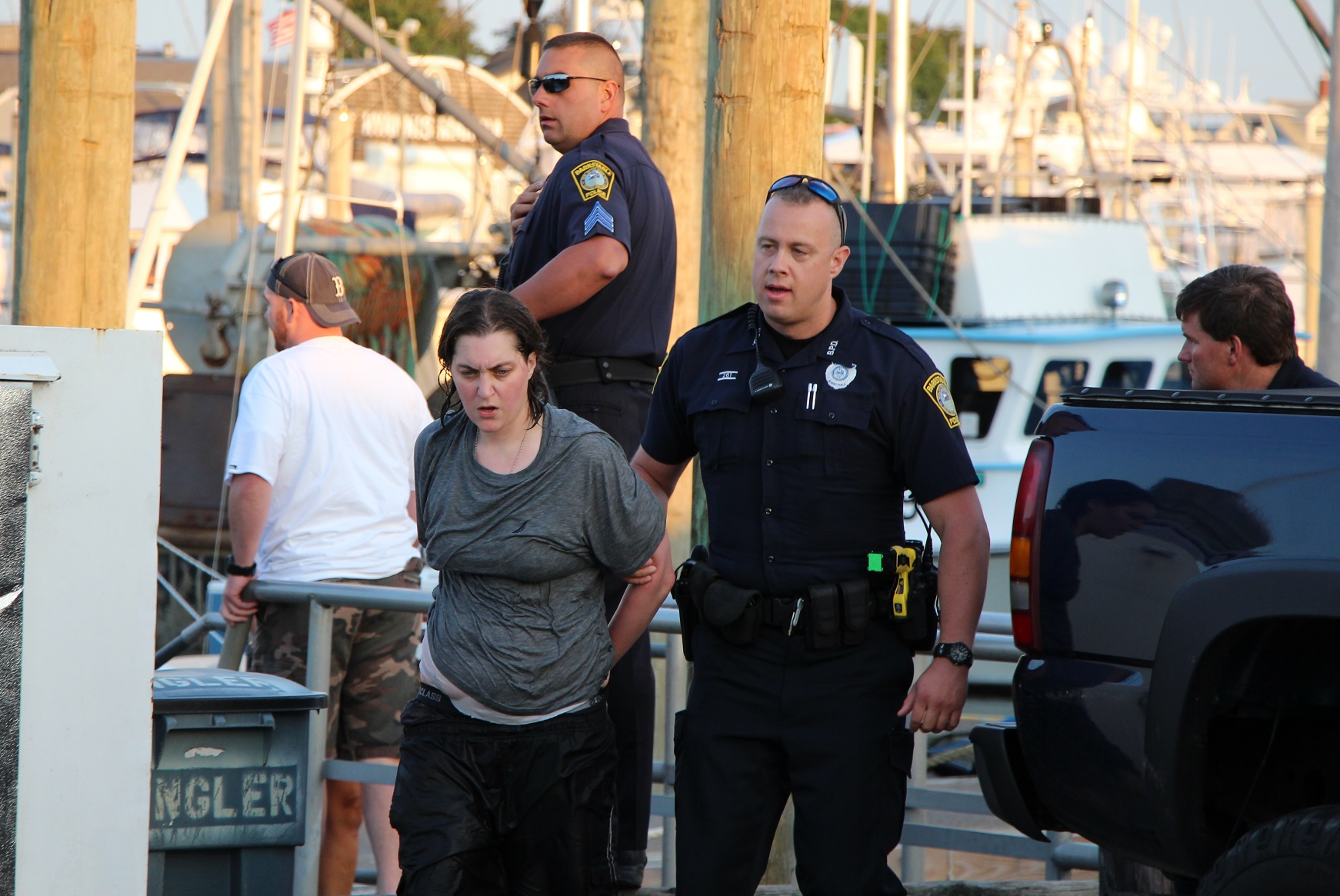 ATV thief swims harbor in freedom bid… [Updated]