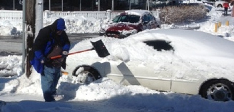 SEEN HERE FIRST:  55-year-old arrested for snow shovel attack… [Updated]