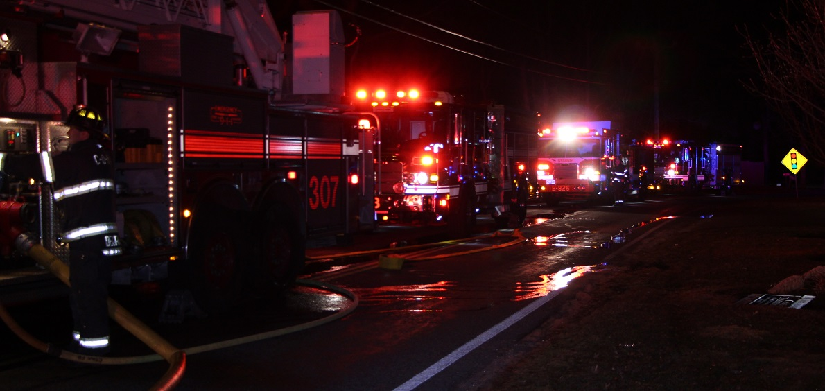 FLASH:  Firefighters quickly contain early morning bedroom fire… [Video]