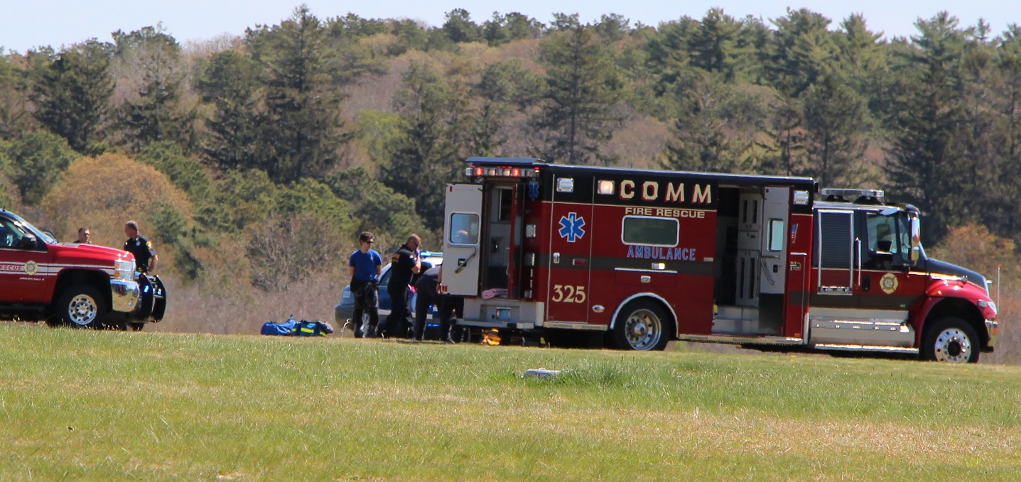 UPDATE:  Skydiver sent to CCH with injuries…. [Video]