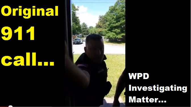 UPDATED: Makers of viral video claim local cop slapped elderly mother… Actual 911 call… WPD releases brief press statement… [Raw Video]