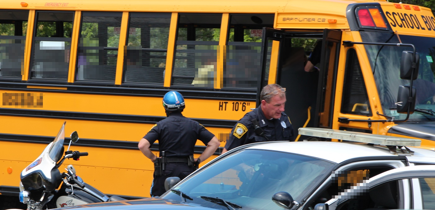 Little Darlin's:  Summer school bus scrap draws police and rescue…