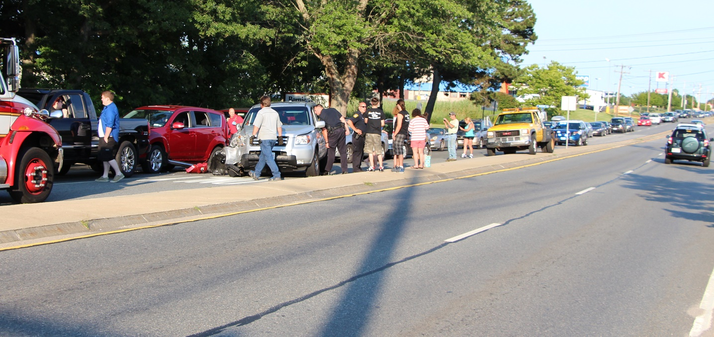 Five-car collision jams up 132… plus other news briefs…