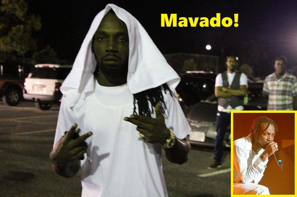 Mavado rocks Pufferbellies on an otherwise quiet HyTown Monday night…  [VIDEO]