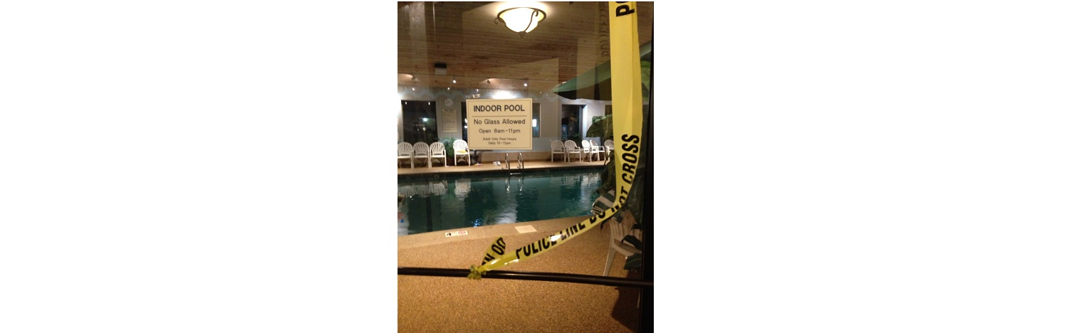UPDATE: Two young girls found at bottom of Yarmouth motel pool… 9-year-old succumbs to her injuries…
