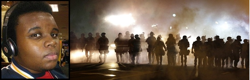 UNREST:  Ferguson, a city ripped apart…