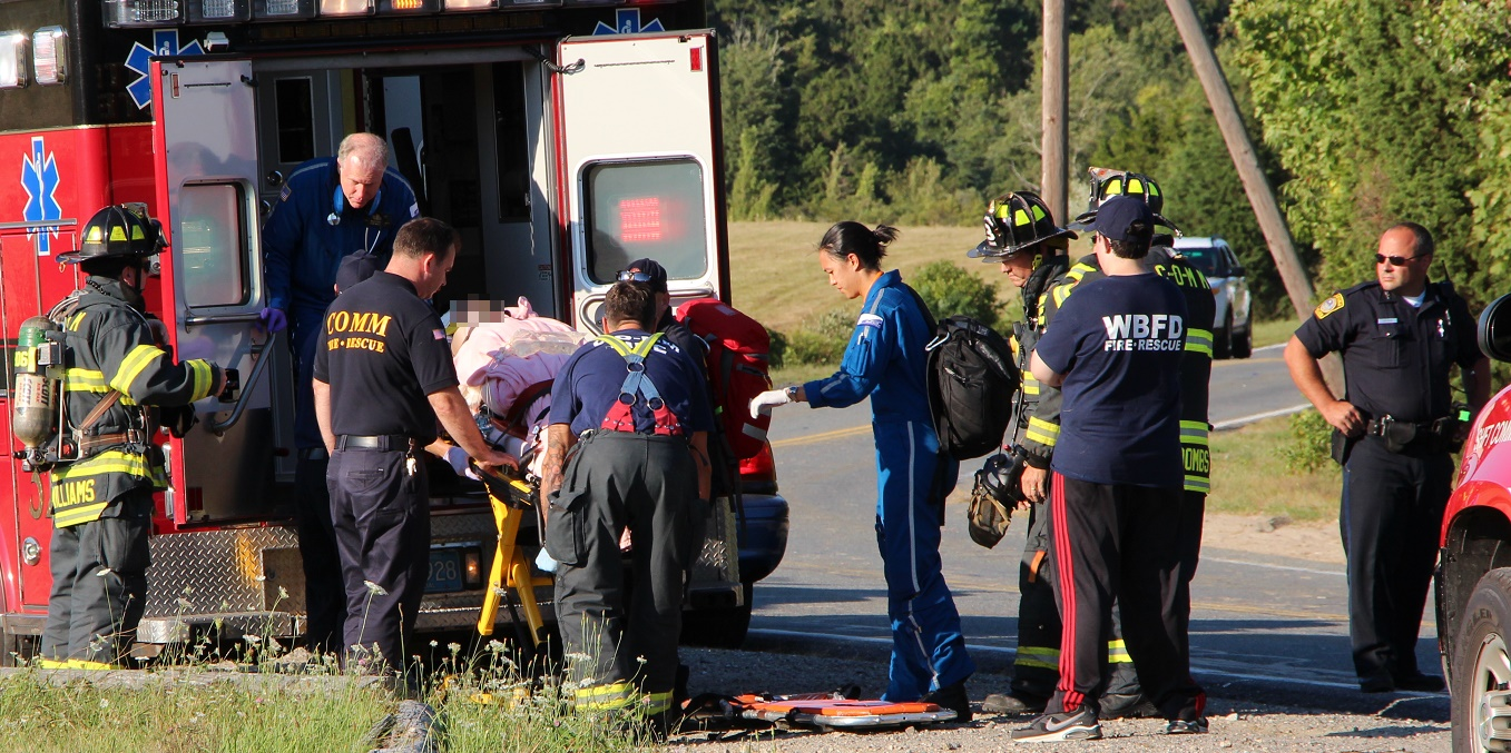 FREAK ACCIDENT: Teen run over by her own truck…  Medflighted from Marstons Mills… [VIDEO… UPDATED INFO]
