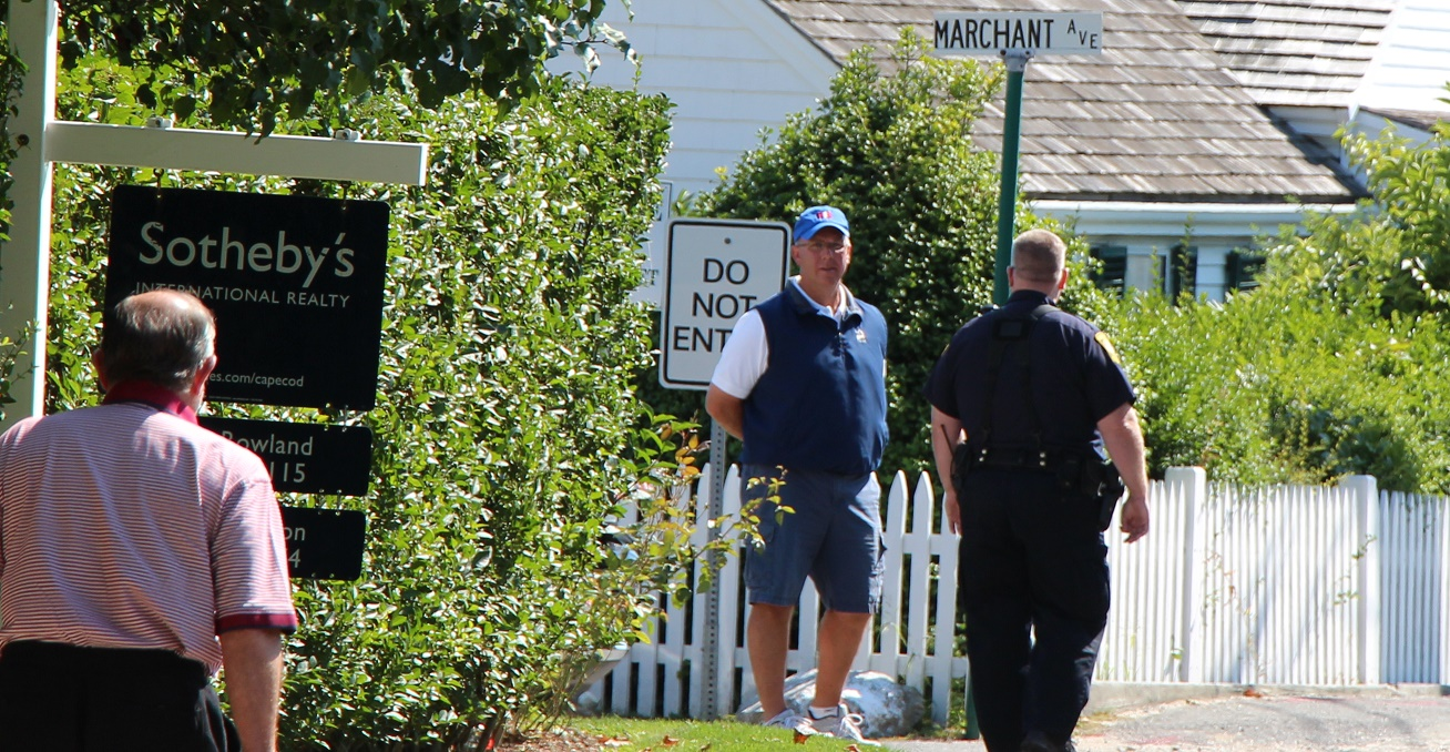 Squad cars called to minor car accident inside Kennedy Compound… [VIDEO]