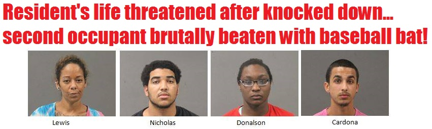 SHOCKING DETAILS: Four promptly arrested after violent home invasion…