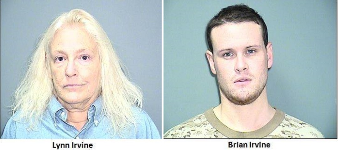 Mother and son arrested after breaking and entering… arresting officer injured… black powder muzzle loader amongst loot…