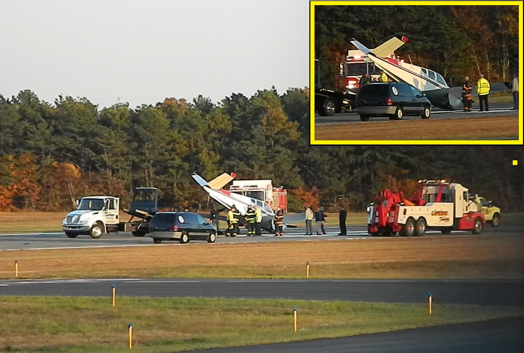 NEWS BRIEF:  Pilot walked away without a scratch…