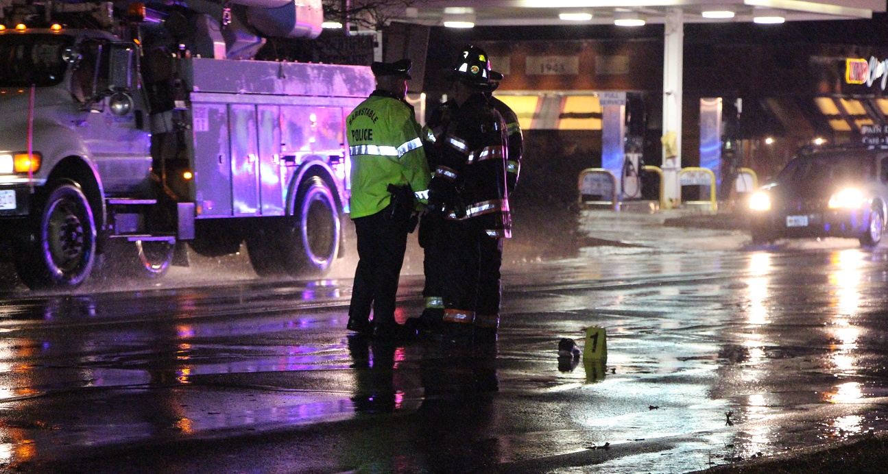 Pedestrian struck and pinned under car on Route 132… rushed to CCH … [VIDEO]