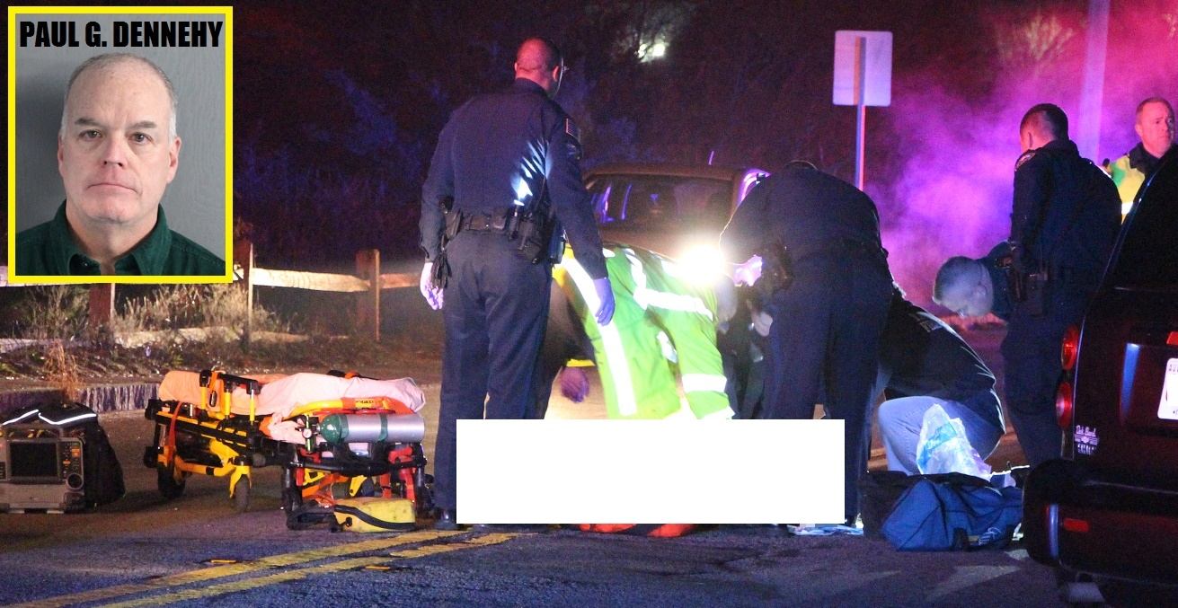 FATAL CRASH: Police arrest alleged drunk driver after he struck two pedestrians…  while driving Harbor Light Properties van… [UPDATED VIDEO AND INFO]