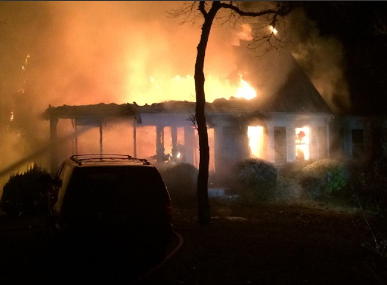 BLAZE:  Firefighters battled fully involved fatal house fire in Chatham…