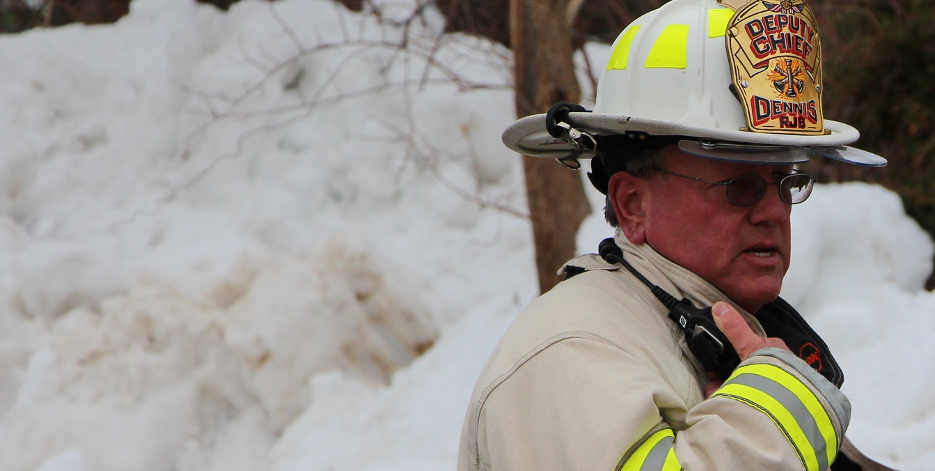 FLAMES:  Dennis FD saves businesses from further damage… loose snow was the cause…