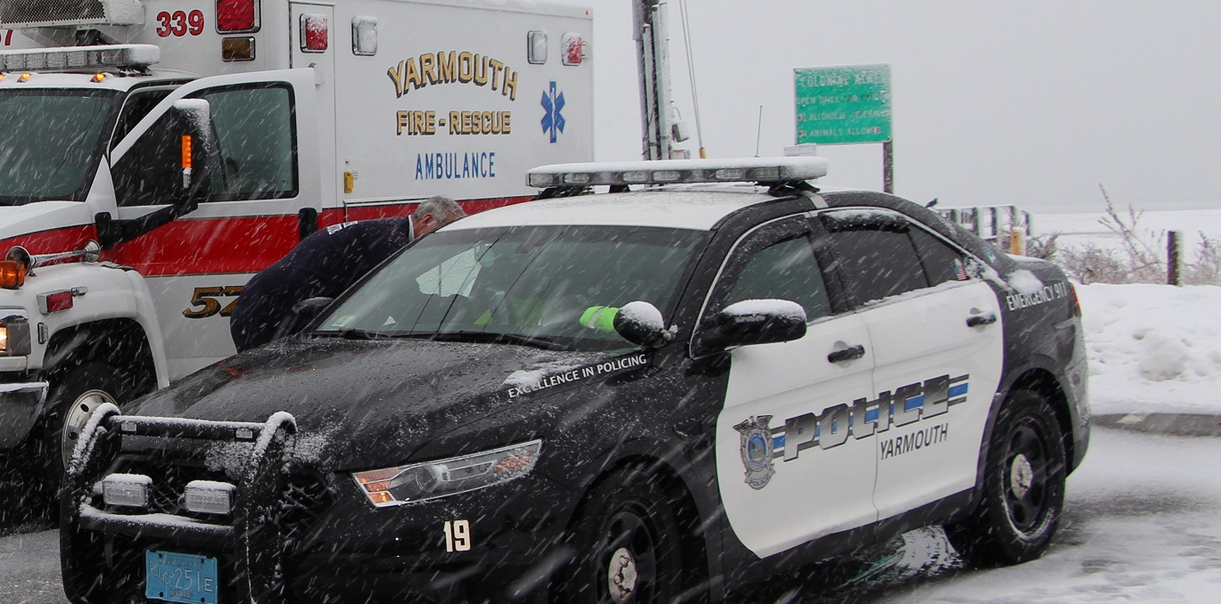 UPDATED:  Apparent suicide victim recovered from icy waters in West Yarmouth…  [Video]