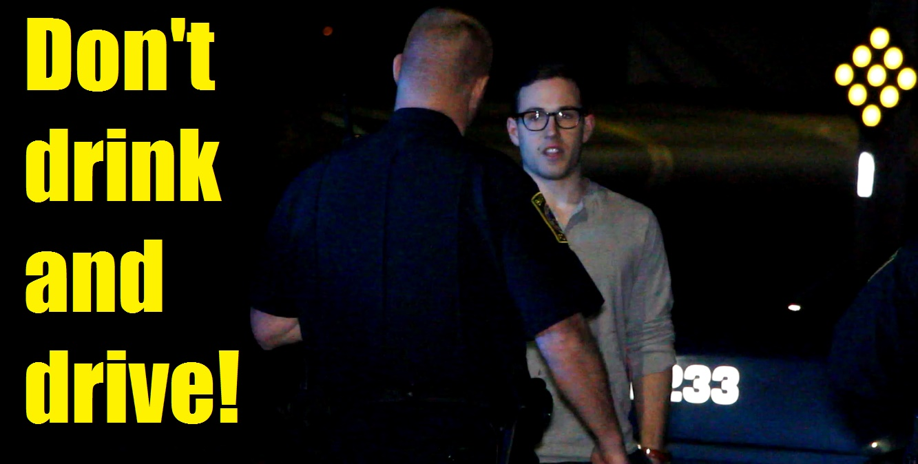 VIDEO:  BPD makes two drunk driving arrests just before and after last call…  one after a crash into a utility pole…