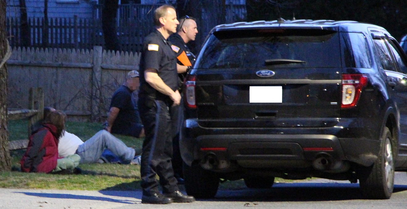 UPDATED:  Officers take cover outside home after man stabbed in stomach…