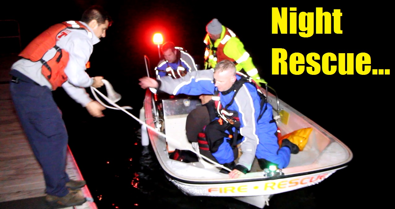 VIDEO: Barnstable FD arrives safely back in harbor with patient…
