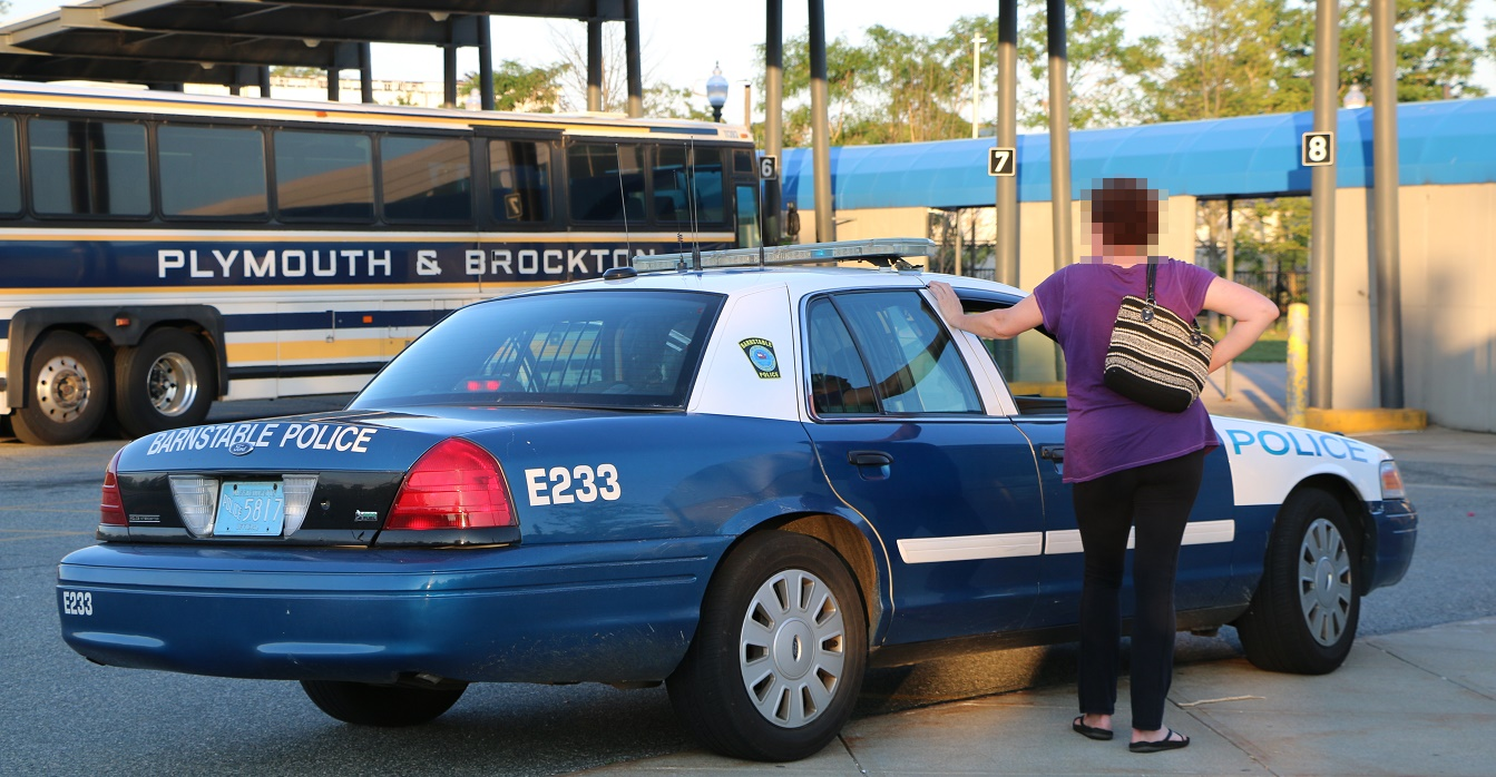 BE LEERY: Woman had car stolen when she stopped next to transportation center…