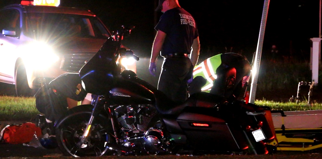 "UPDATED: Horrible double motorcycle crash… two ""PRIORITY ONE"" patients… accident recon summoned…"