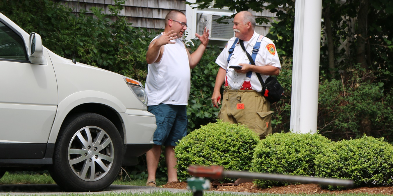 STRUCTURE FIRE:  Vacationing Milford man saves West Yarmouth home…