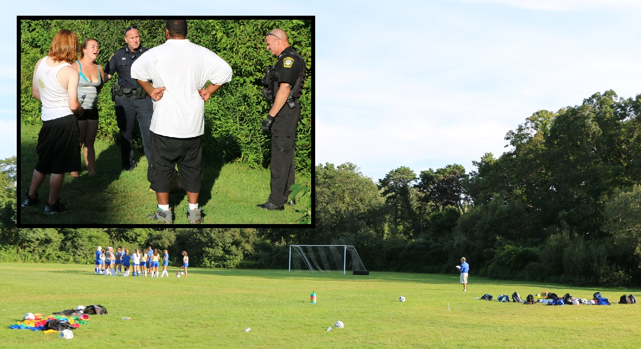Homeless woman arrested after police called to girls' soccer practice… [VIDEO]