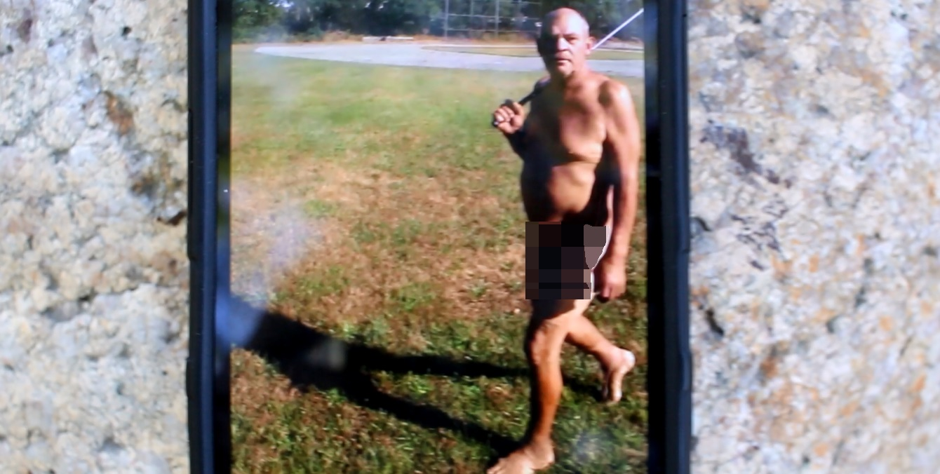 CAUGHT ON VIDEO:  Hyannis man arrested for playing golf naked in public…