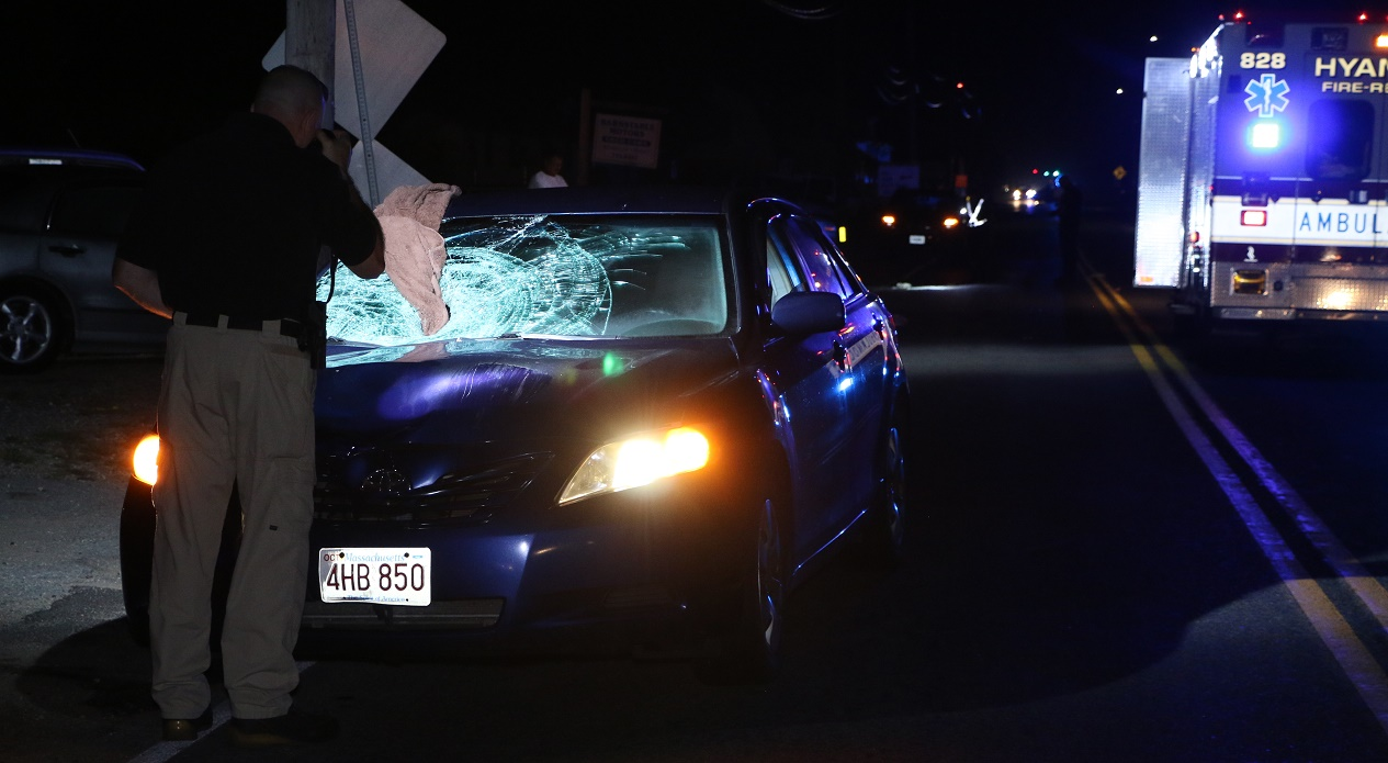 MULTIPLE TRAUMATIC INJURIES:  Man hit by car was walking home from convenience store…