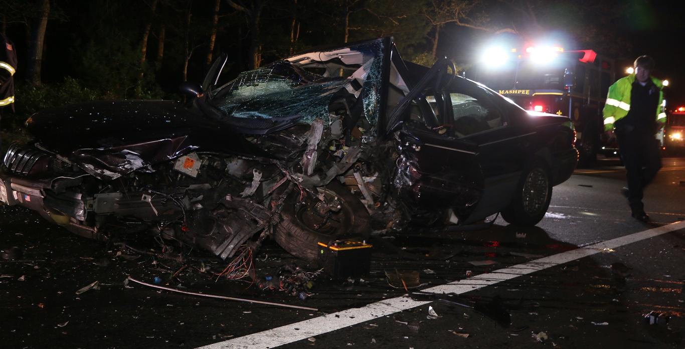 FATAL CRASH:  Major head-on collision in Cotuit…