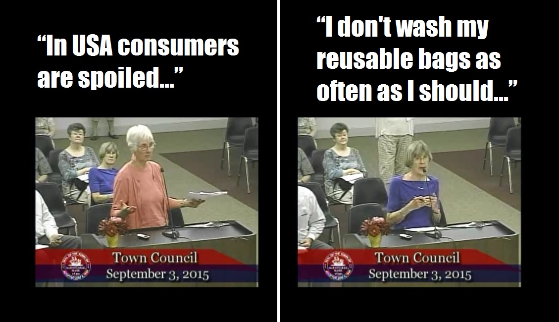 HORRIFIC OVERSTEP:  Town Council votes to save Earth's oceans… plastic grocery bags seen as threat to town and planet… [VIDEO]