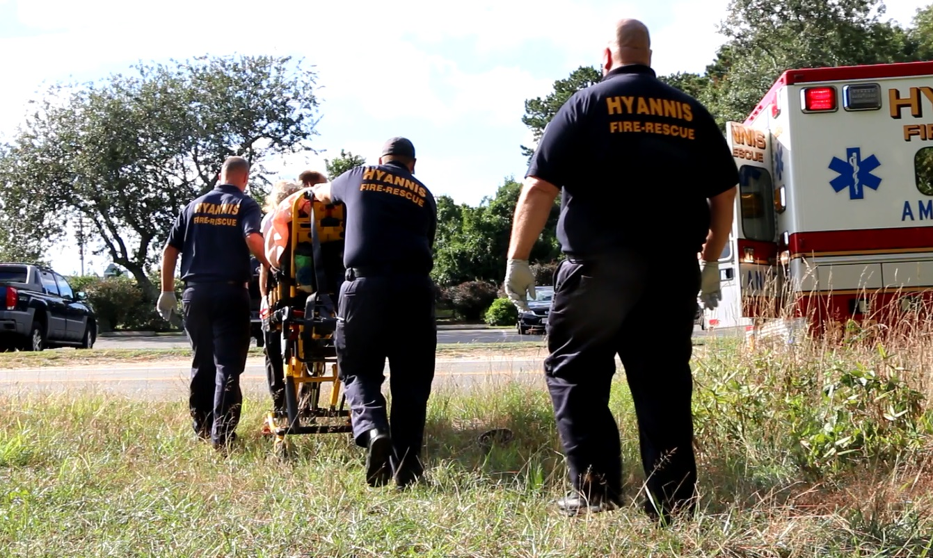 EYE-OPENING VIDEO:  Hyannis Rescue enters homeless camp to help intoxicated man…
