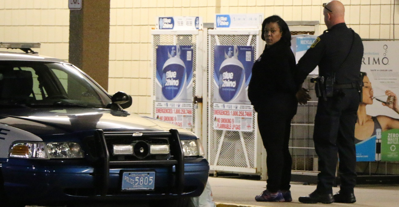 INSIDE JOB:  Woman arrested for felony shoplifting…  allegedly had extra help at checkout counter…