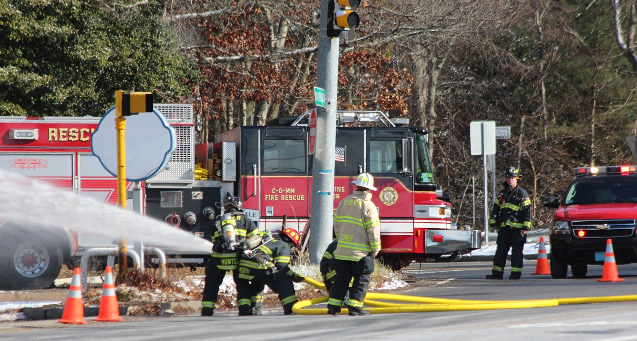 HAZMAT EMERGENCY:  Route 28 and surrounding area needed to be closed down… [VIDEO]