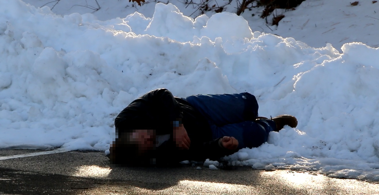 COLD HARD REALITY: Drunk found sleeping in snowbank… [VIDEO]