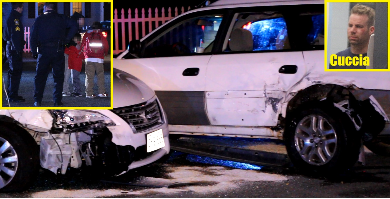 A FATHER'S WORST NIGHTMARE:  Police officer's daughter hurt in hit-and-run accident… drunk driver fled on foot… later arrested not far from the scene…