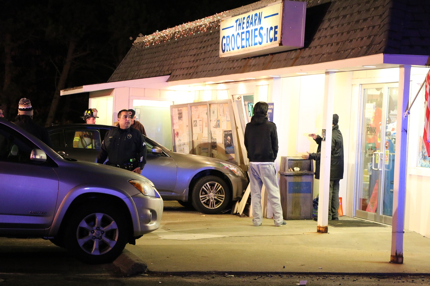 Vehicle into Mashpee business… second time in about 4 months [VIDEOS]