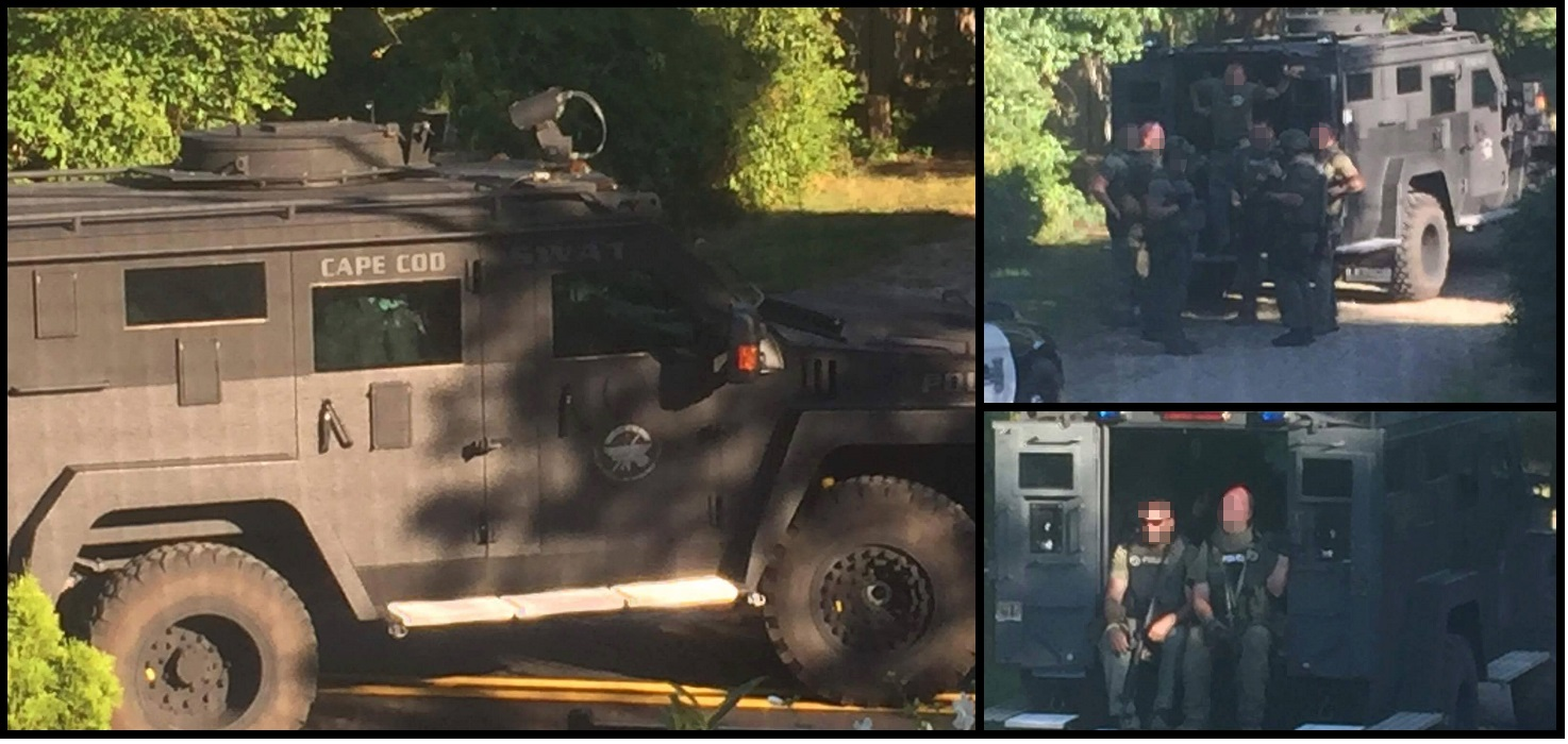 SWAT OP: Hyannis man arrested on federal and local warrants in Yarmouth…