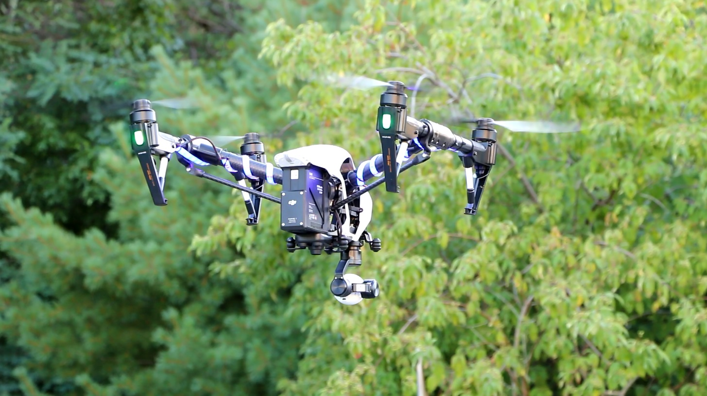 UPDATE – WOMAN FOUND: First mission for Barnstable Police drone… looking for suicidal female…