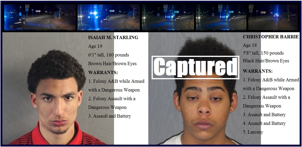 FOOT CHASE – UPDATE – Local men sought by YPD on felony warrants run from Barnstable cops… [NEW VIDEO]