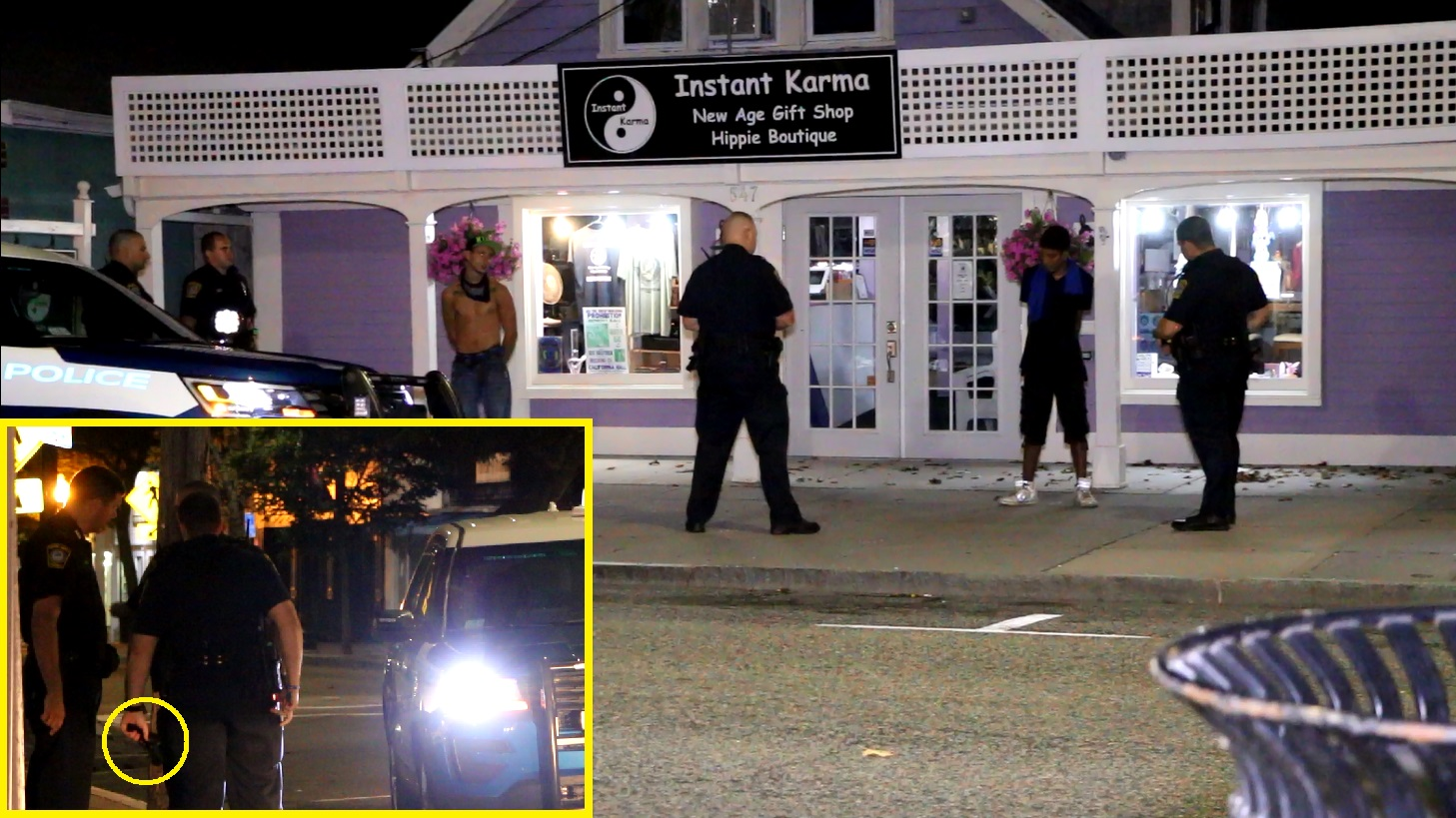 Suspects allegedly pulled gun on cabby… taken down in front of 'Instant Karma…' [VIDEO]
