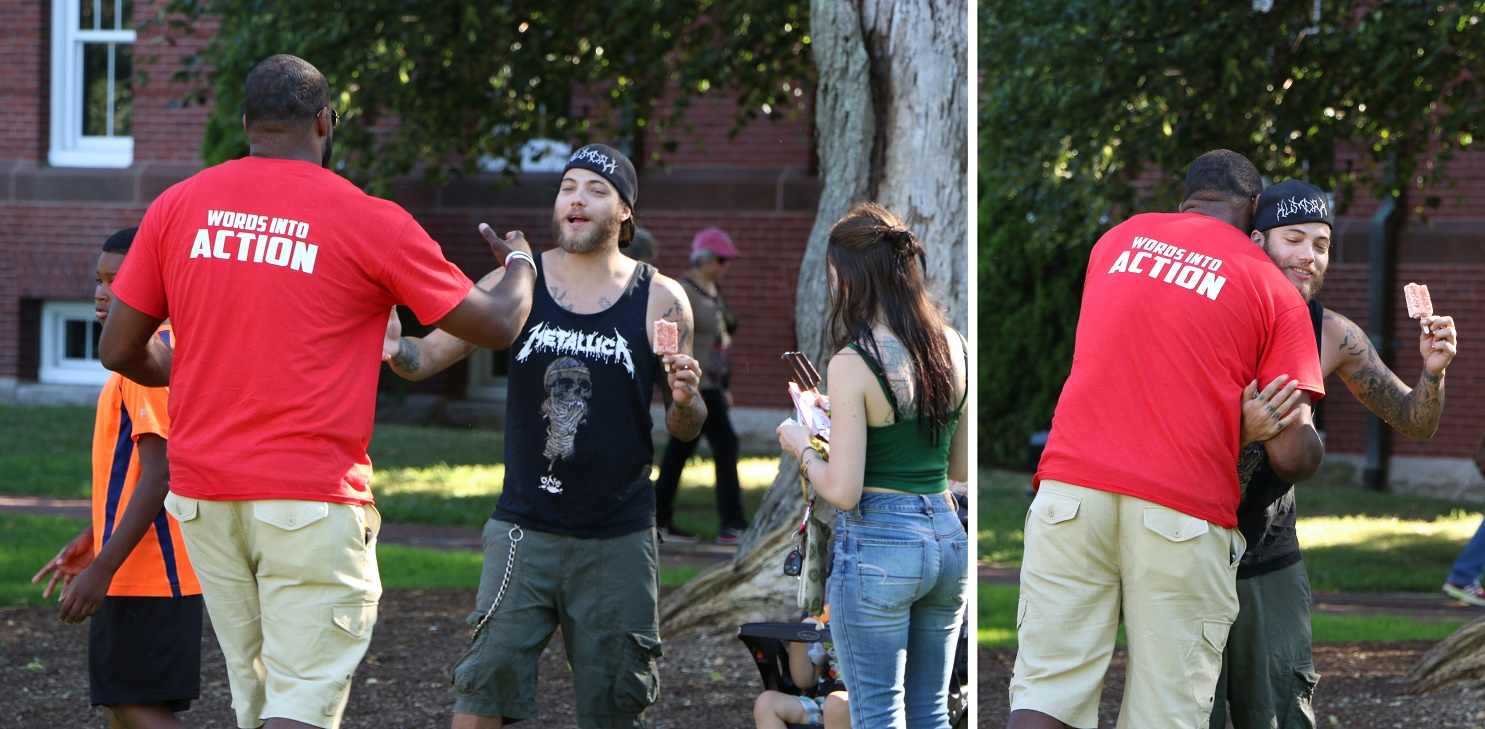 HUGE SUCCESS: Barnstable's first Unity Day cookout and celebration on HyTown's Village Green… [VIDEO]