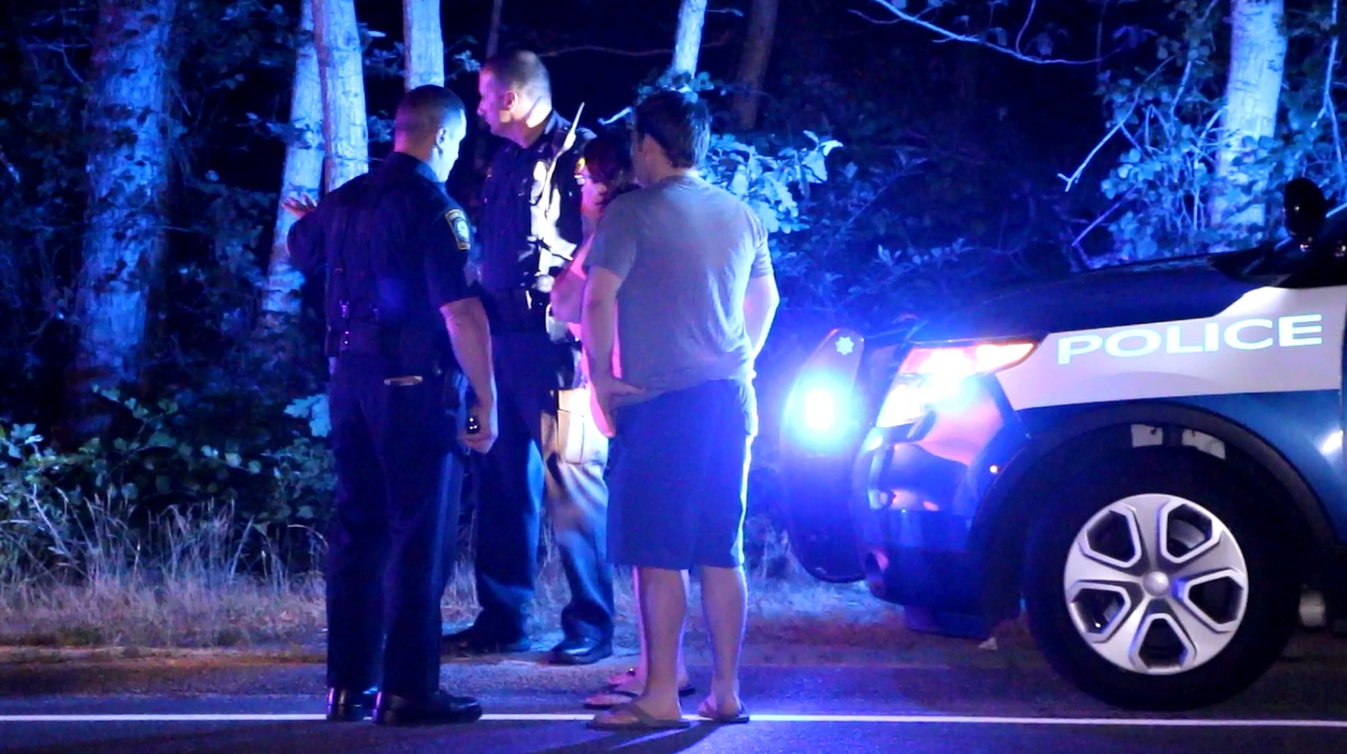 VIDEO: Mom arrived to find son's car crashed into tree… heavily damaged… with son about to be taken to CCH…