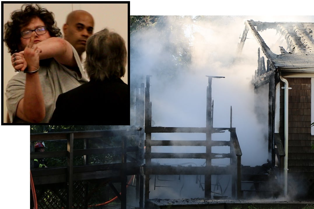 SHOCK: Man arrested for arson shortly after Centerville house burns… [TWO VIDEOS]