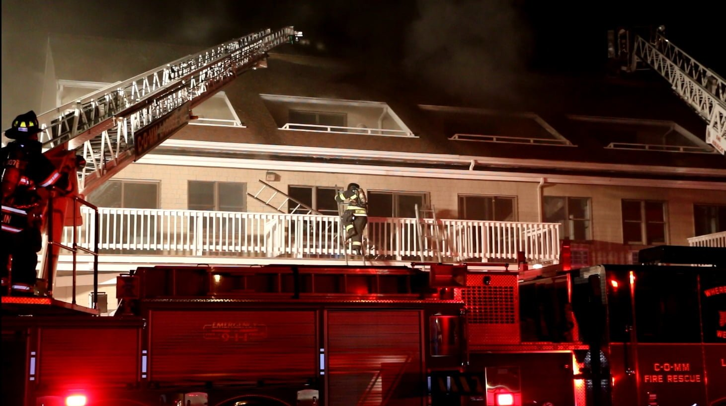 THREE ALARMS: Hyannis Harbor Hotel Fire… [VIDEO]
