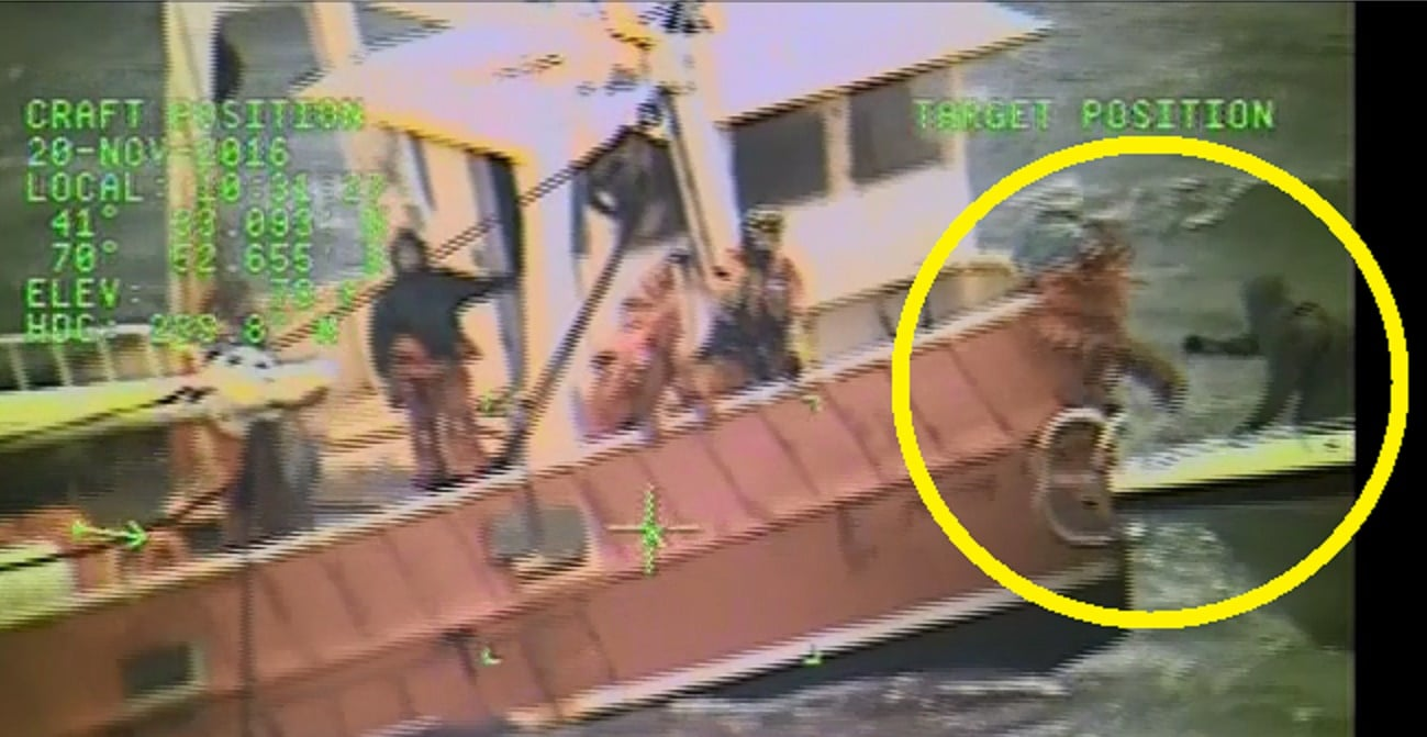 DRAMATIC AUDIO & VIDEO: 6 SAVED FROM SINKING SCALLOP BOAT OFF NEW BEDFORD!