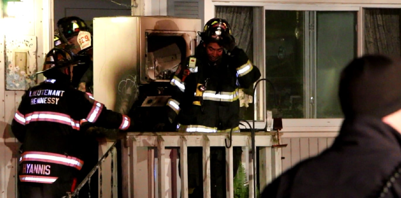 VIDEO: Firefighters save home from appliance fire…