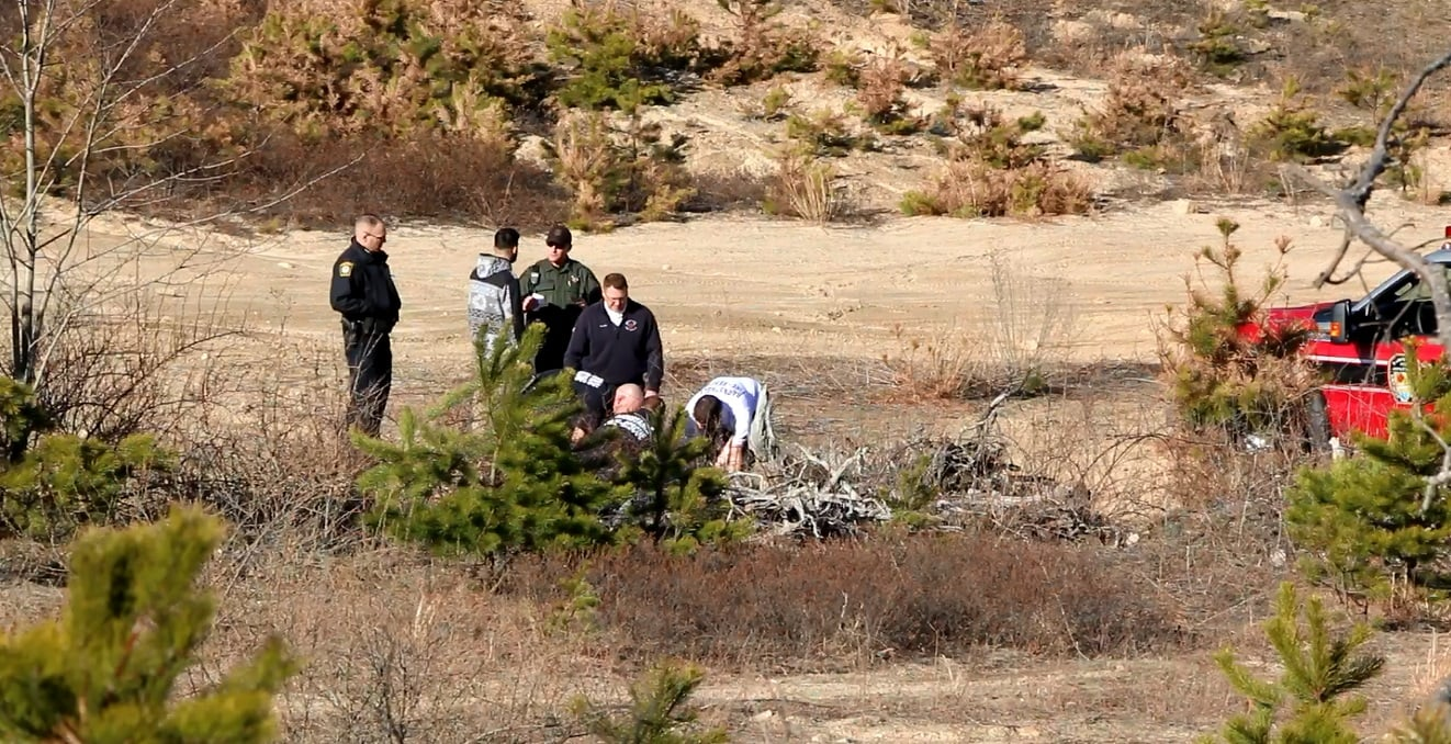 DIRT BIKE CRASH: Hyannis man reportedly suffered broken ribs at remote gravel pit… [VIDEO]